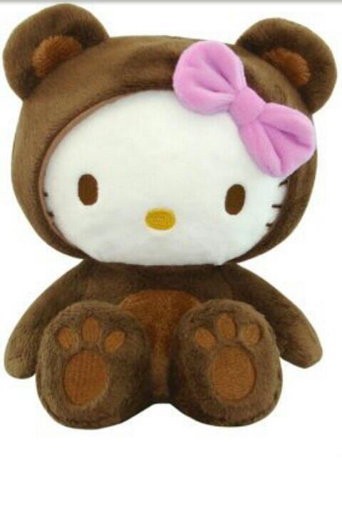Hello Kitty im Kostüm Teddy